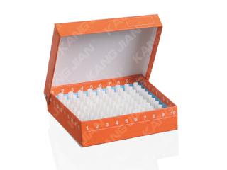 紙質凍存管盒 100格
