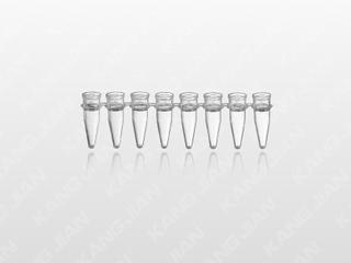 PCR-8联可拆反应管 0.2ml透明