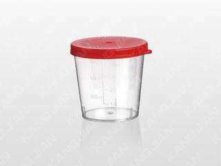 尿液標本杯 40ml 手撳蓋