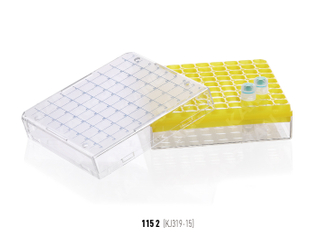 凍存管盒 81格